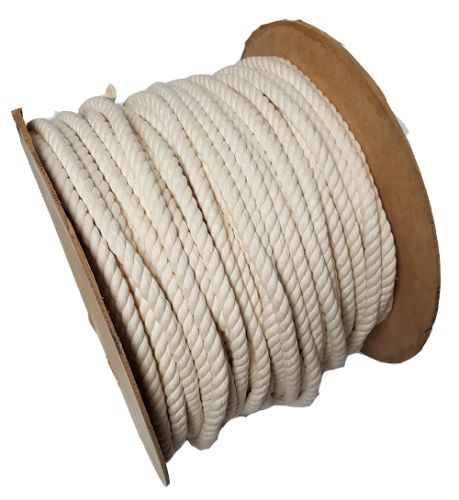 16mm Cotton Rope sold on a 40m reel