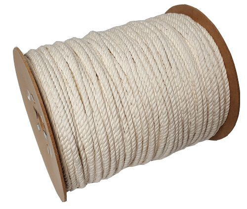 8mm Cotton Rope sold on a 220m reel