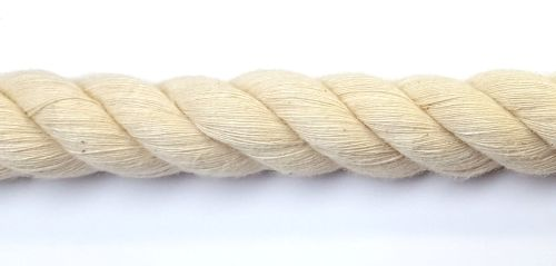 20mm Cotton Rope sold cut to length by the metre