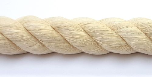 32mm Cotton Rope sold cut to length by the metre