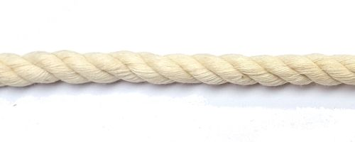 8mm Cotton Rope sold by the metre