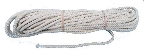 8mm Firm lay Cotton rope - 24m coil