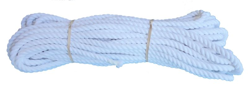 Optic White Cotton Rope