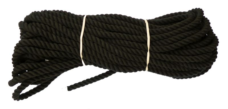 Black Cotton Rope