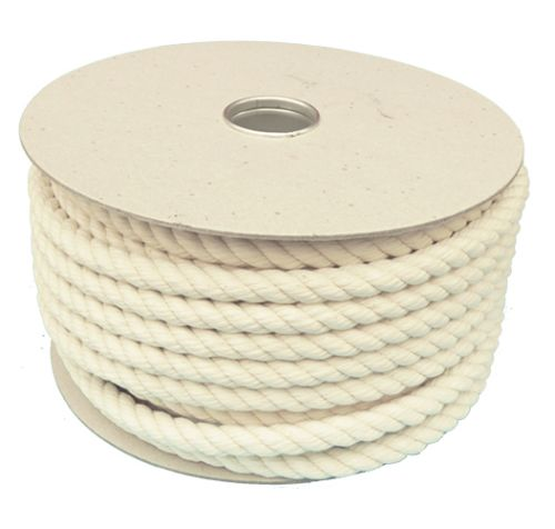 16mm Firm Lay Cotton Rope - 40m reel