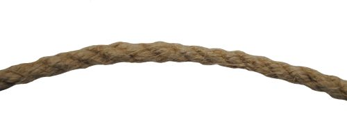 8mm Natural Flax Hemp Rope sold by the metre