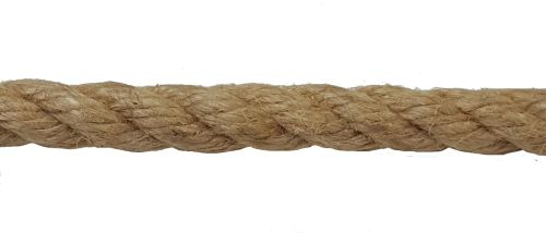 12mm Natural Flax Hemp Rope sold by the metre