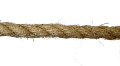 14mm Natural Flax Hemp Rope sold by the metre