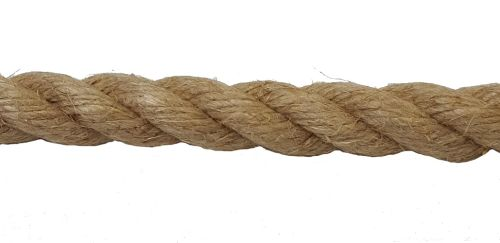16mm Natural Flax Hemp Rope sold by the metre
