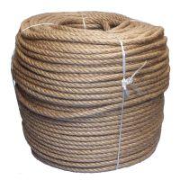 10mm 4-strand Jute/pp rope - 400m coil