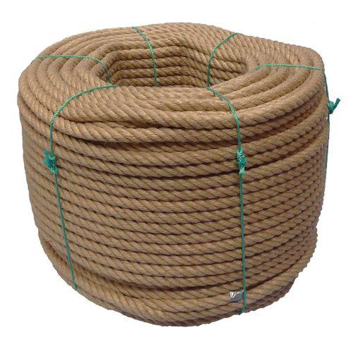 20mm 4-strand Jute/pp rope - 220m coil