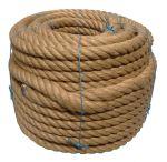 36mm 4-strand Jute/pp rope - 80m coil