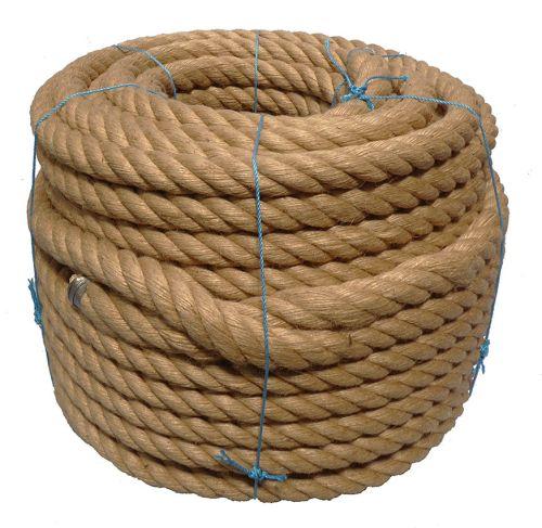 36mm Jute/PP rope - 80m coil