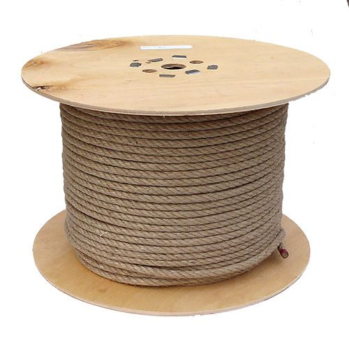 10mm Jute Rope on a 200m reel