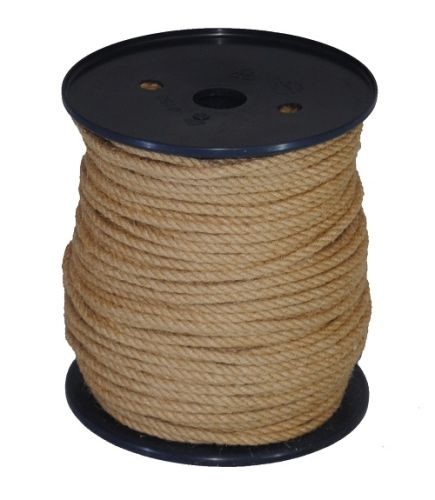 4mm Jute Rope on a 100m reel