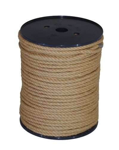 6mm Jute Rope on a 100m reel