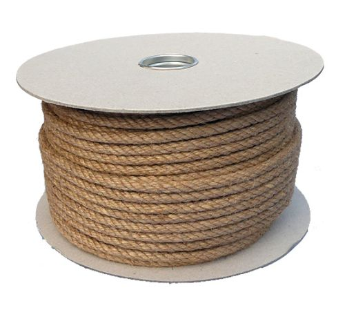 8mm Jute Rope on a 100m reel