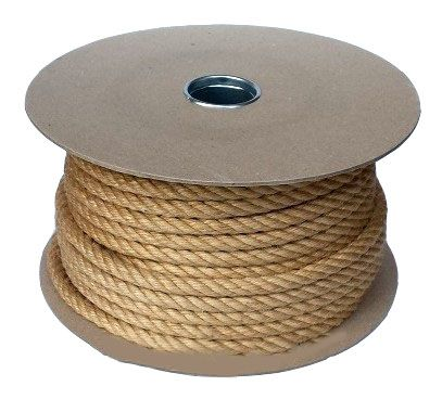 10mm Jute Rope on a 80m reel