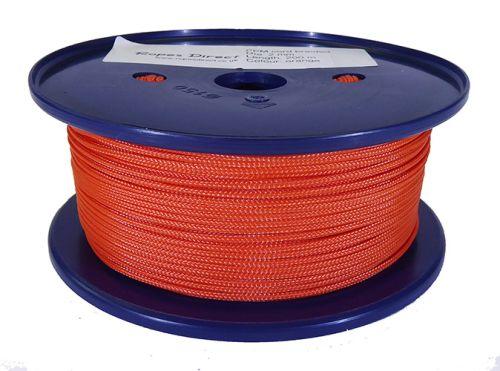 2mm Burnt Orange Polypropylene Multicord - 200m Reel