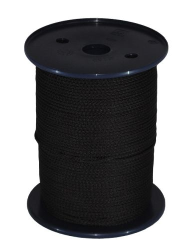 3mm x 200m Black Polypropylene Multicord