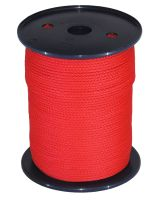 3mm x 200m Red Polypropylene Multicord