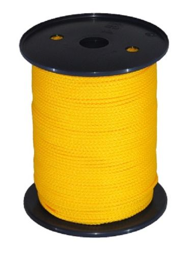 3mm Yellow Polypropylene Multicord - 200m Reel