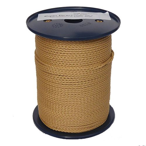 3mm Fawn Beige Polypropylene Multicord - 200m reel