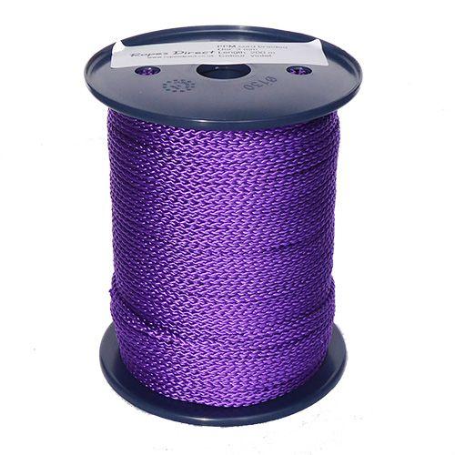3mm Purple Polypropylene Multicord - 200m reel