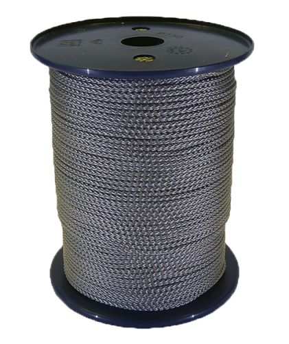3mm Silver Grey Polypropylene Multicord - 200m reel