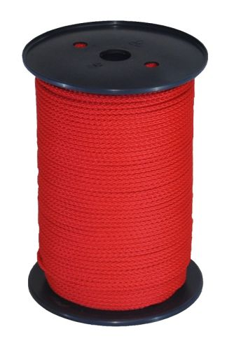 4mm x 200m Red Polypropylene MultiCord