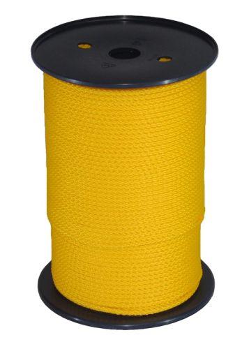 4mm Yellow Polypropylene MultiCord - 200m Reel