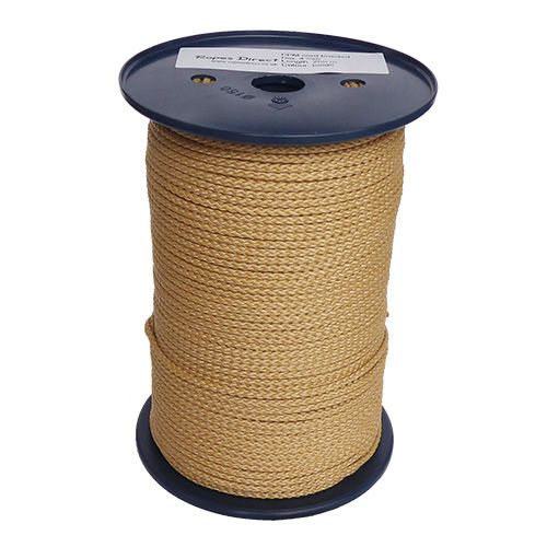 4mm Fawn Beige Polypropylene MultiCord - 200m reel