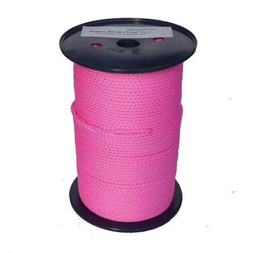 4mm Pink Polypropylene MultiCord - 200m reel