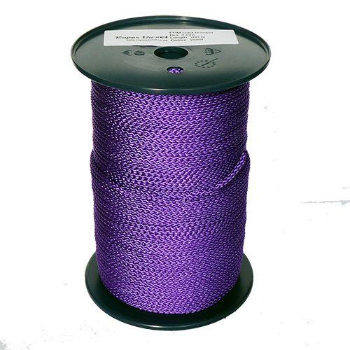 4mm Purple Polypropylene MultiCord - 200m reel