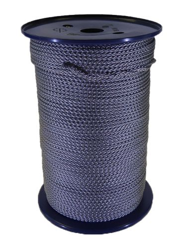 4mm Silver Grey Polypropylene MultiCord - 200m reel