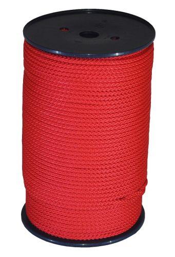 6mm Red Polypropylene MultiCord - 200m Reel