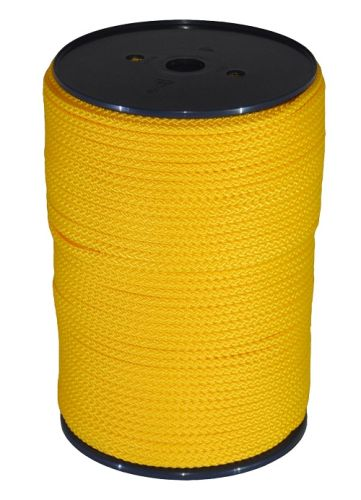6mm x 200m Yellow Polypropylene MultiCord