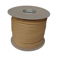 6mm Fawn Beige Polypropylene Multicord - 100m reel