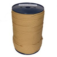 6mm Fawn Beige Polypropylene Multicord - 200m reel