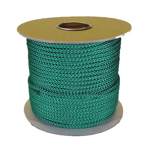 6mm x 100m Green Polypropylene MultiCord