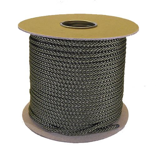 6mm Khaki Green Polypropylene Multicord - 100m reel