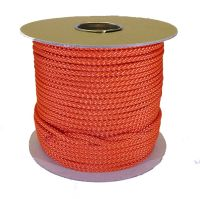 6mm Burnt Orange Polypropylene Multicord - 100m reel