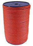 6mm Burnt Orange Polypropylene Multicord - 200m reel