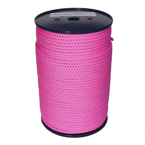 6mm Pink Polypropylene Multicord - 200m reel