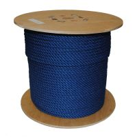 8mm Blue PolyCotton Rope sold on a 220m reel