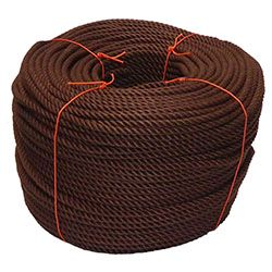 Brown PolyCotton Rope
