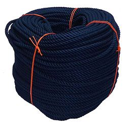 Navy Blue PolyCotton Rope