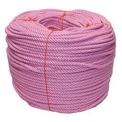 Pink PolyCotton Rope