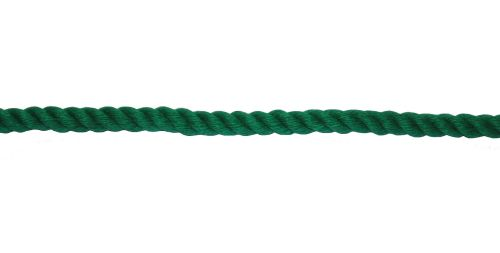 6mm Green PolyCotton Rope sold by the metre