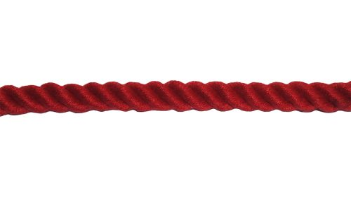8mm Red PolyCotton Rope sold by the metre
